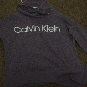 Purple Calvin Klein sweatshirt 💕